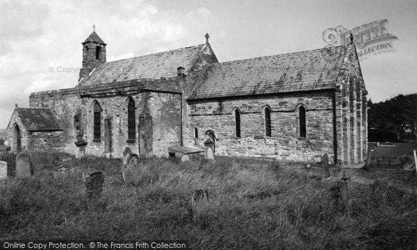 Photo of Holy Island, St Mary's Church c.1960