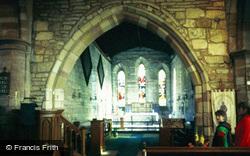 Holy Island, St Mary's Church Interior 1986