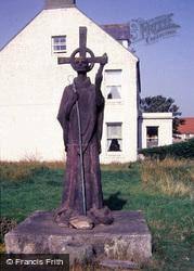 Holy Island, Statue Of St Aidan 1986