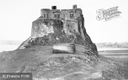 Holy Island, The Castle c.1940