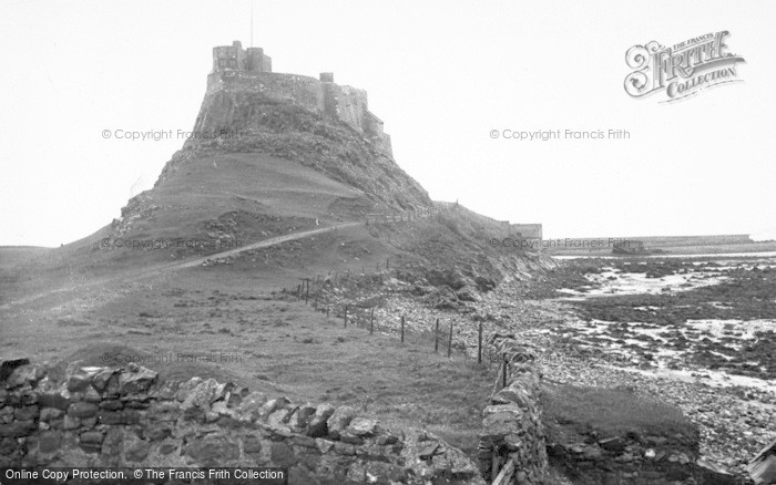 Photo of Holy Island, The Castle c.1940