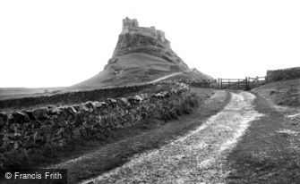 Holy Island, the Castle c1940