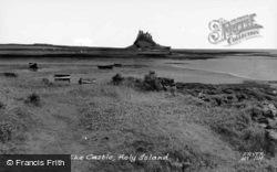 Holy Island, The Castle c.1955