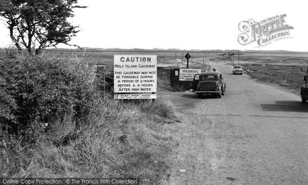 Photo of Holy Island, The Causeway c.1960