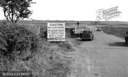 Holy Island, The Causeway c.1960