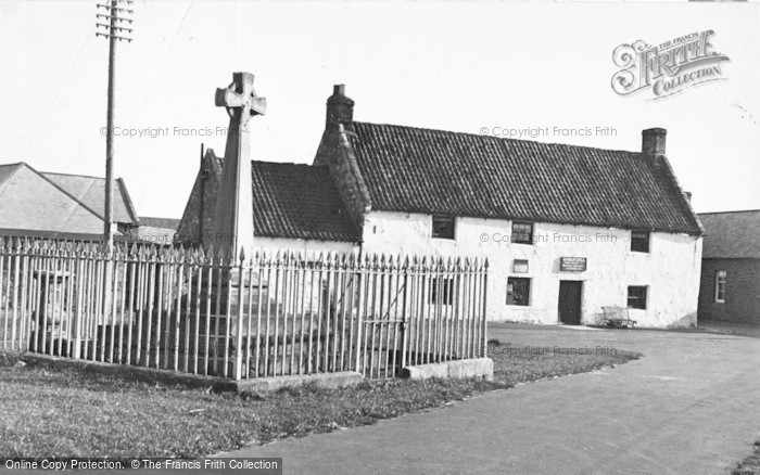 Photo of Holy Island, The Cross And Post Office c.1940