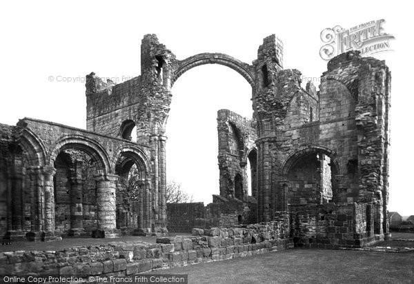 Holy Island, The Lindisfarne Priory c.1940