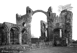 Holy Island, The Lindisfarne Priory c.1940