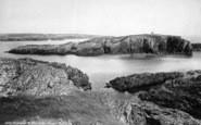 Holyhead, At Rhoscolyn Head 1892