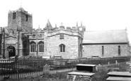 Holyhead, Church Of St Cybi 1892