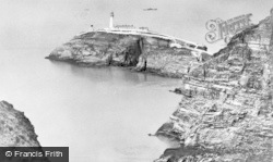 Holyhead, Lighthouse And Headland, South Stack c.1950