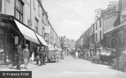 Holyhead, Market Street c.1955