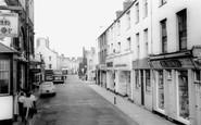 Holyhead, Market Street c.1960