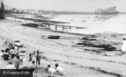 Holyhead, Newry Beach c.1955