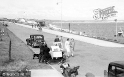 Holyhead, Promenade c.1955