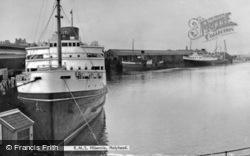 R.M.S. Hibernia c.1955, Holyhead