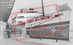 Holyhead, R.M.S. Hibernia c.1955