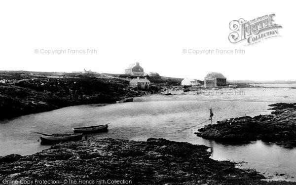 Photo of Holyhead, Rhoscolyn Head 1892