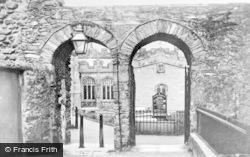 Holyhead, Roman Arches c.1900