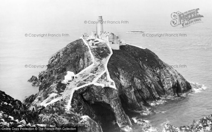 Photo of Holyhead, South Stack Lighthouse 1892