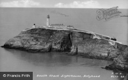 South Stack Lighthouse c.1950, Holyhead