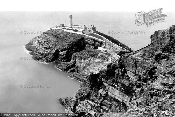 Photo of Holyhead, South Stack Lighthouse c.1965