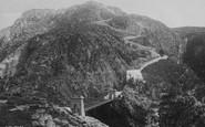 Holyhead, South Stack Suspension Bridge 1892