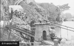 Holyhead, South Stack Suspension Bridge c.1950