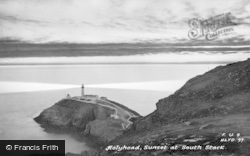 Sunset At South Stack c.1950, Holyhead