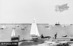 The Outer Harbour c.1965, Holyhead