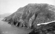 Holyhead, View From South Stack 1892