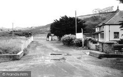 Entrance To Penhale Camp c.1960, Holywell Bay