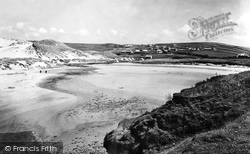 From The Beach 1931, Holywell Bay