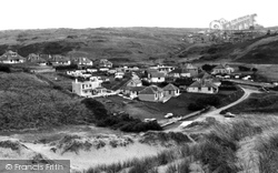 Penhale Camp And Village c.1960, Holywell Bay