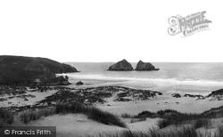 The Bay And Gull Rocks c.1960, Holywell Bay