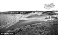 The Beach c.1960, Holywell Bay
