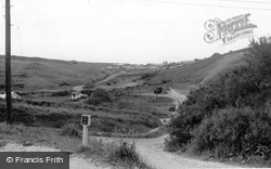 The Camp From Corner Cafe c.1960, Holywell Bay