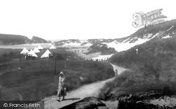 The Pinnacle Rock And Beach 1931, Holywell Bay