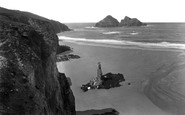 Holywell Bay photo