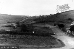 View From Cafe c.1960, Holywell Bay