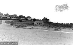 Village From Beach c.1960, Holywell Bay