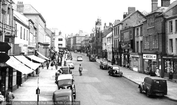 Holywell, High Street c1960