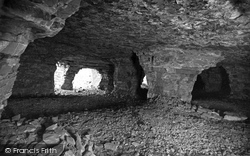 Holywell, Interior Of The Caves At Holway c.1930