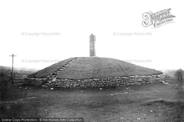 Holywell, Pen-y-Ball Monument c1927