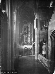 Holywell, The Shrine, St Winefride's Well c.1930