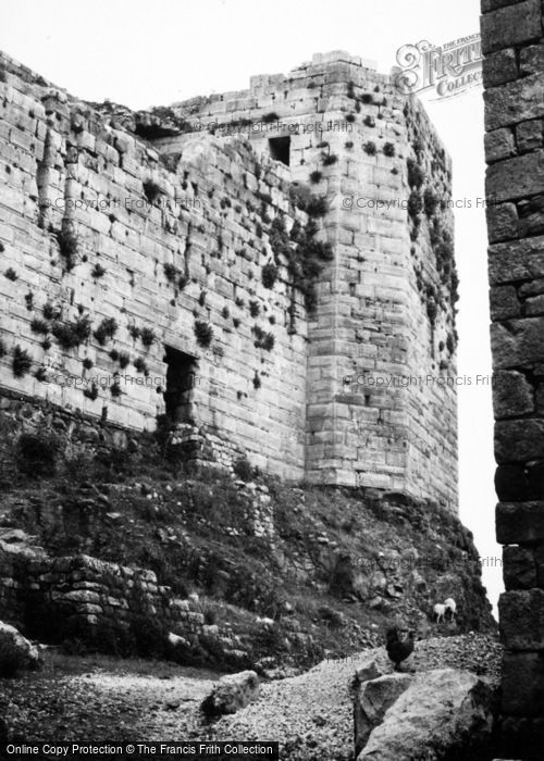 Photo of Homs, Krak Des Chevaliers 1965