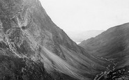 Honister Crag, A Peep Of Buttermere c.1861