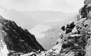 Honister Crag, View From Top Of c.1880