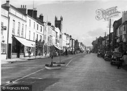 Honiton, High Street c.1950