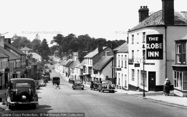 Honiton, High Street c1955